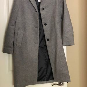 Light Grey Dress Coat